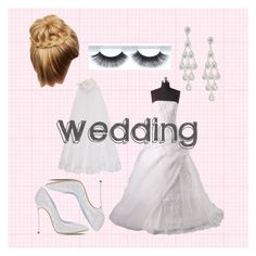 """Bride"" by afashionfangirl230 ❤ liked on Polyvore featuring Casadei, Express and Monsoon"