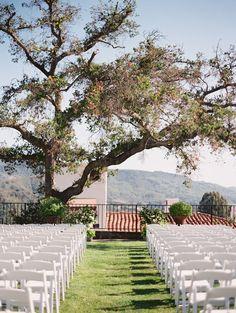 Perfect backdrop at our Hacienda Courtyard for your special moment! #weddingwednesdays #weddingsatojaivalleyinn  Photography: Lane Dittoe - lanedittoe.com  Read More: http://www.stylemepretty.com/california-weddings/2015/02/20/elegant-ojai-wedding/
