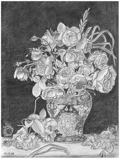 Flowers in a Vase by ~Ecza on deviantART