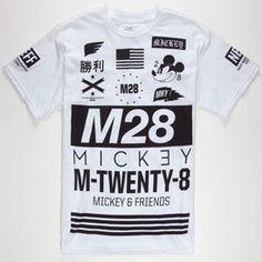 NEFF Disney Collection Mickey M28 Mens T-Shirt 232582150 | Tops
