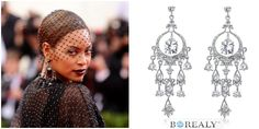 Beyonce, Cercei Chandelier Magnifique http://www.borealy.ro/cercei-chandelier-magnifique.html