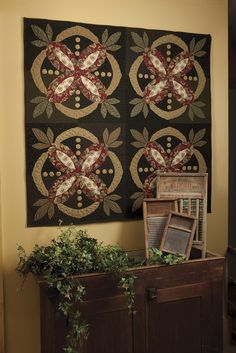 Primitive Quilts and Projects Magazine - Kay Harmon - Wooly pretty!