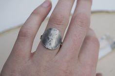 Full Moon Ring | Sterling Silver Ring | Moon Jewelry | Stacking Ring | Mermaid Ring | Mermaid Jewelry  moon goddess, moon girl, moon phases, stacking rings, moon rings