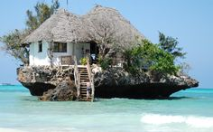 まさに隠れ家!?珊瑚礁の海に浮かぶ小さな一軒家レストランが話題に - IRORIO(イロリオ)