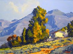 ted-hoefsloot-cottages-at-rooiberg South African Artists, Take Me Home, Art Boards, Watercolor Paintings, Ted, Art Gallery, Sketches, Exterior, Afrikaans