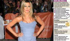 Five meals a day... secret of Jennifer Aniston's fab figure