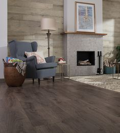 Pergo Outlast Thornbury Oak Has An Inviting Smoky Dark Grey Color With Brown Undertones That Will