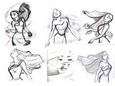 sketch - pocahontas