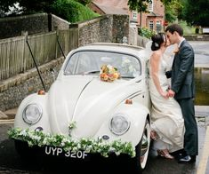 Carocha para o carro dos noivos. #casamento #carocha