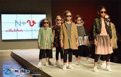N + V Villalobos + Nieves Álvarez en FIMI (Feria Internacional de Moda Infantil organizada por Feria Valencia) mostrando su próxima colección de moda infantil otoño invierno 2017 2018
