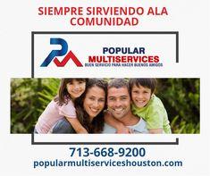 En protección para tu familia cuenta con nosotros. Houston, Popular, Community, Popular Pins, Folk, Most Popular