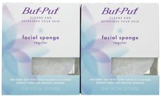 Buf-Puf Regular Facial Sponge - 2 pk >>> Details can be found by clicking on the image. (This is an Amazon affiliate link)