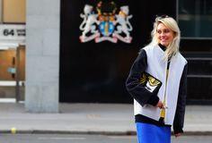 #Creative #block #colour #monochrome #bold #blonde looks at #FashionWeek
