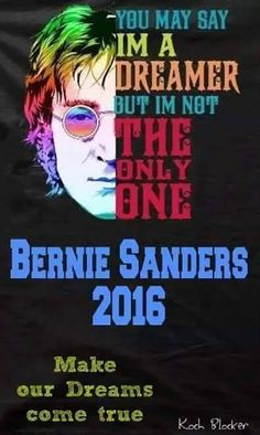 #Bernie2016 working to turn the dream of a nation that works for all of us into reality. #FeeltheBern @Women4Bernie