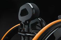 Carbon Black Wheelchair-4