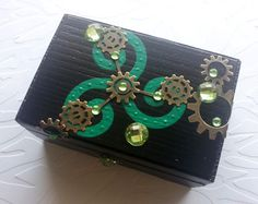 'Celtic Meets SteamPunk~OOAK Box' is going up for auction at 10am Tue, Jun 25 with a starting bid of $9.