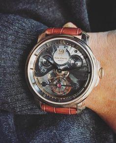 #EmileChouriet #Tourbillon #limitededition #rosegold #case #watches #watchesofinstagram #watchaddict #watchmania #watchoftheday #WOTD #watchnerd #instawatch #watchgeek #watchcollector #watchcollection #dailywatch #watchmaking #wristshot #wristgame #geneva #madeingeneva #swissmade #switzerland