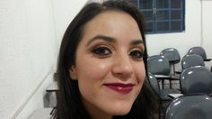 Amanda 2 esfumado marrom, cobre e dourado.