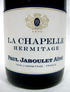 """JABOULET 2010 -  Hermitage """"La Chapelle""""    96-98 pts IWC  $1600.6-pk 750 -  """"One of The Great Wines of The World!"""" Clive Coates.    Avail. at Domaine Franey  peter@domainefraney.com"""