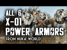 Here are the other two power armor sets identified by viewers: Just outside of the amusement parks behind Dry Rock Gulch there's a truck bed on the road towa. Fallout 4 Secrets, Fallout 4 Tips, Fallout Facts, Fallout Meme, Fallout New Vegas, Fallout 4 Power Armor, Fallout 4 Weapons, Fallout 4 Locations, Nuka World