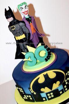 Batman and joker - Cake by Zoe's Fancy Cakes