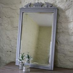 Edwardian Distressed Mirror - mirrors