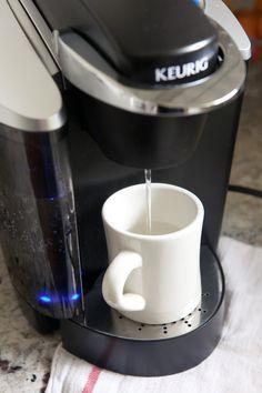 Cleaning Keurig with Vinegar