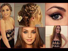 Braid/Long Semi-Formal Hair | Prom Do's | Pinterest | Hair