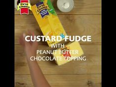 Custard Fudge Snack Recipes, Dessert Recipes, Snacks, Desserts, Chocolate Butter, Custard, Fudge, The Creator, Chips