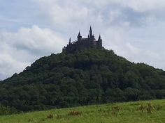 """""""Burg Hohenzollern"""" is a hilltop castle that once served as the ancestral seat of the Prussian Royal House.Famous castles in Germany."""
