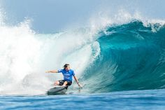 World Surf League: Outerknown Fiji Pro, five World Champions were defeated in Round 3 at Cloudbreak in Fiji.