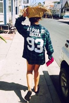 Flannel season is here! Get your ultra comfy AXiD Boyfriend Flannel for only $44 at http://shop.thesociallife.com/collections/tsl-custom-flannels/products/alpha-xi-delta-boyfriend-flannel