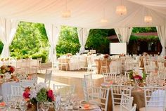 miller lash wedding tent