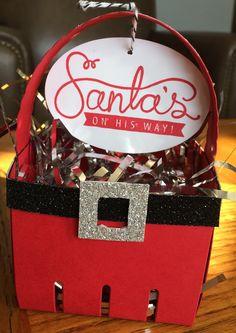 Watch it Weekly Wednesday – Christmas Craft Idea from Santa   StampingJill.com - Jill Olsen, Stampin' Up! Demonstrator