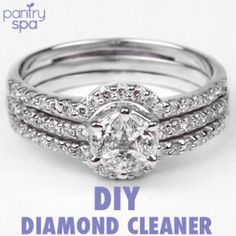 Homemade Diamond Cleaner: Clean Diamonds with Ammonia - Pantry Spa