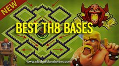 AMAZING! TH8 War |Trophy |Farming & Hybrid Bases Layouts!#COCBASES #COCBASESLAYOUTS #COCLAYOUTS #TH8BASES #BESTTH8BASES #TH8WARBASES #TH8FARMINGBASES #TH8HYBRIDBASES #TH8TROPHYBASES #CLASHOFCLANSLOVER.COM #NEWTH7