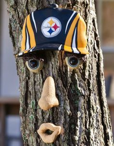 Pittsburgh Steelers Forest Face Tree Decoration