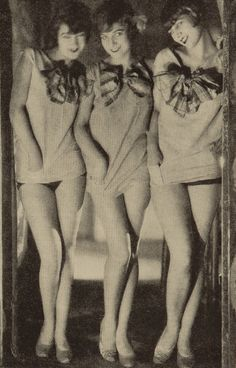 Club girls of the 1920's