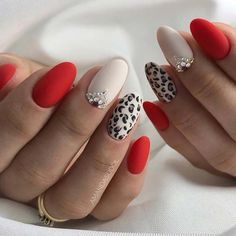 Ready to upgrade your go-to red nails? You're in the right place because we're sharing 50 gorgeous red nail designs for epic nail style. Burgendy Nails, Oxblood Nails, Magenta Nails, Mauve Nails, Maroon Nails, Leopard Nails, Rose Gold Nails, Neutral Nails, Green Nails