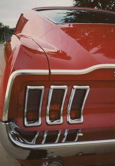 67 Mustang GTA #mustangvintagecars
