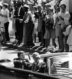 Notice President Kennedys Hands In This Photo. He Has Just Been Shot In This Photo.