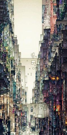 Em Arte Digital é apresentado semanalmente um conjunto de fotos manipuladas, ilustrações e outras