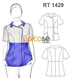 Scrubs and other uniforms Scrubs Pattern, Scrubs Uniform, Scrub Life, Work Wear, Medical, Blazer, Sewing, How To Wear, Outfits