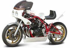 Cafe Bike, Cafe Racer Bikes, Cafe Racers, Cafe Style, Moto Style, Custom Motorcycles, Custom Bikes, Honda Cbx, Moto Car