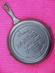 LODGE LIMITED EDITION Cast Iron FOUNDRY Expansion 2013-2014 Advertising Skillet