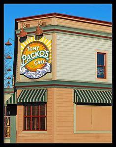 Tony Packo's famous Hungarian Café, Toledo, Ohio, 2009.