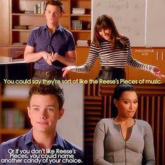 "#Glee 6x03 ""Jagged Little Tapestry"" - Kurt, Rachael and Santana"