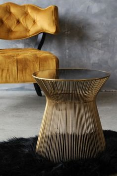 Hampstead Gold Side Table from Rockett St George