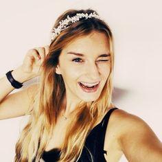 silver wedding headband Wedding Headband, Wedding Hair Accessories, Wedding Hairstyles, Princess, Silver, Fashion, Moda, Fashion Styles, Wedding Hair