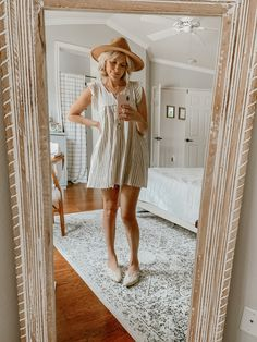 spring style with @carlyjeanlosangeles, @seychellesshoes Easy Makeup, Simple Makeup, Covering Dark Circles, Spring Style, Spring Fashion, White Dress, Dresses, Fashion Spring, Vestidos